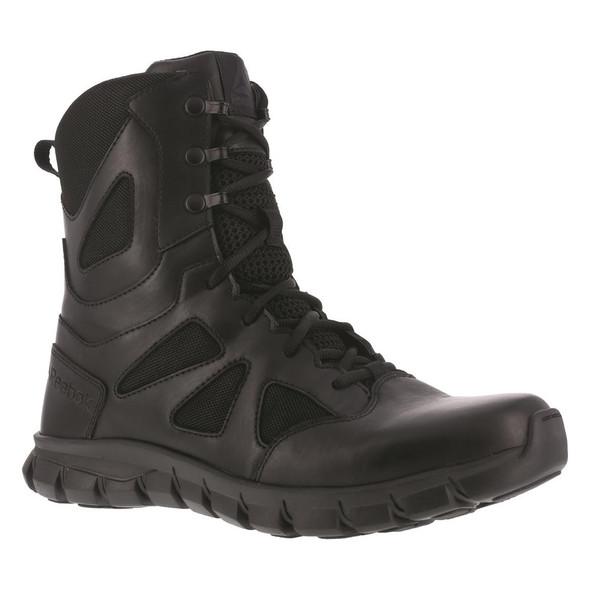 "Reebok RB8806 Men's Sublite Cushion 8"" Waterproof Side Zip Tactical Boot"