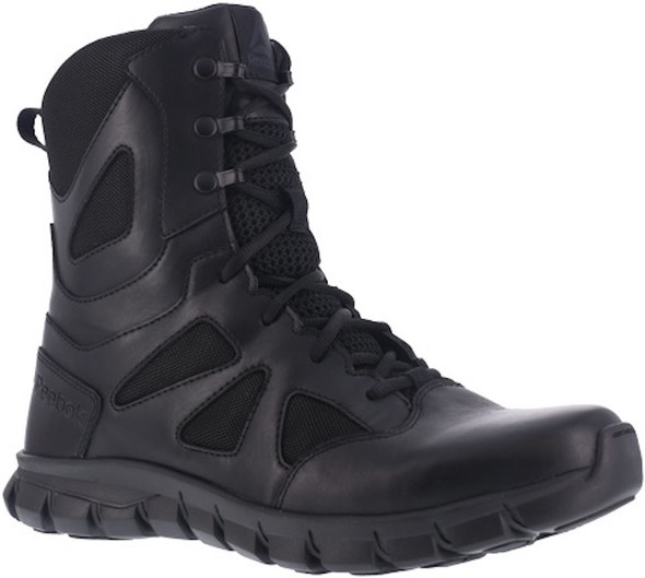 "Reebok RB8805 Men's Sublite Cushion 8"" Side Zip Tactical Boot"