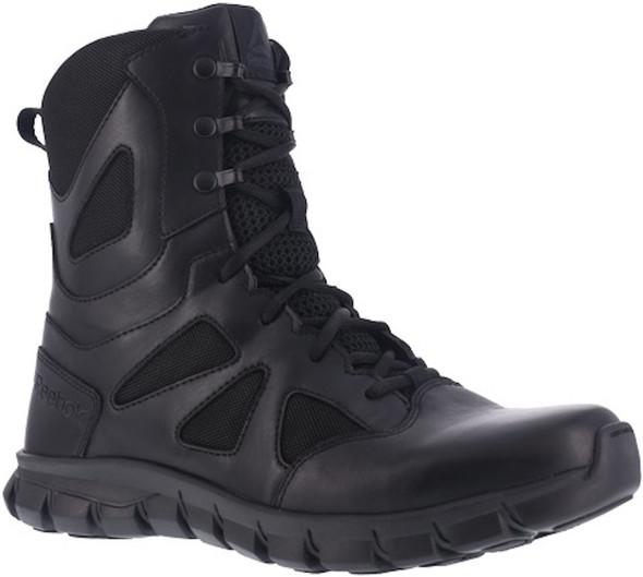 "Reebok RB8805 Men's Sublite Cushion 8"" Side Zip Tactical Boot"