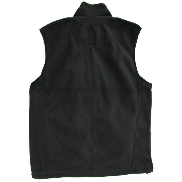 Uzi Lightweight Zip-Up Fleece Vest w/ Handwarmer Pockets