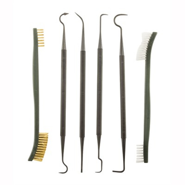 Battle Steel Nylon Pick & Brush Set