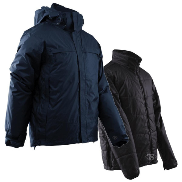 Tru-Spec H2O 3-In-1 Waterproof Breathable Parka Dark Navy w/Insulating Cumulus Liner