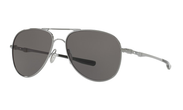 Oakley Men's Elmont Medium Gunmetal Frame Warm Grey Lenses