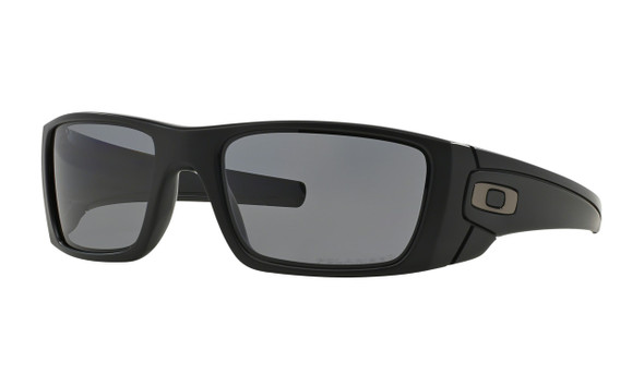 Oakley Men's Fuel Cell Matte Black Frame w/ Grey Polarized Lens