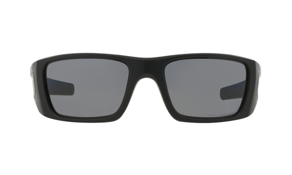 Oakley Men's Fuel Cell Matte Black Frame w/ Grey Polarized Lens