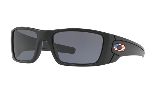 Oakley Men's SI Fuel Cell Matte Black Frame w/ Grey Lens