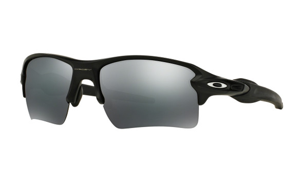 Oakley Men's Flak 2.0 XL Matte Black Frame Black Iridium Lenses