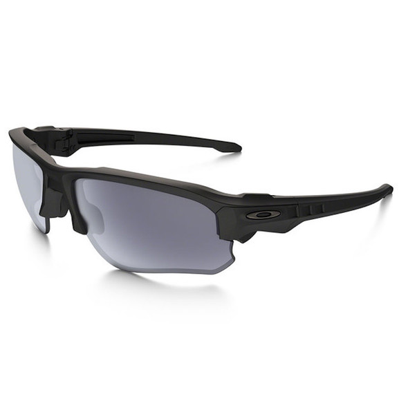 Oakley Men's Si Speed Jacket Matte Black Frame Grey Lenses