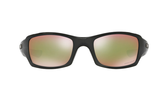 Oakley Men's Fives Squared Polished Black Frame Prizm Shallow Water Lenses