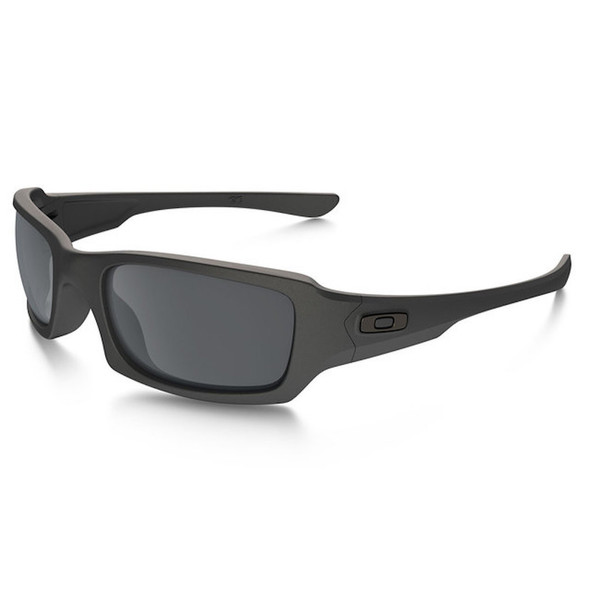 Oakley Men's SI Fives Squared Cerakote Cobalt Frame Black Iridium Lenses