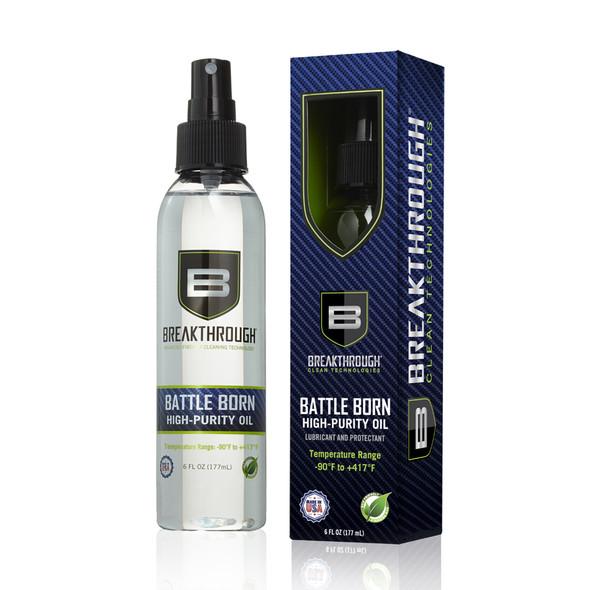 Breakthrough Battle Born High Purity Oil Spray Bottle 6oz