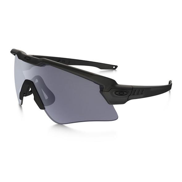 Oakley SI Ballistic Alpha Matte Black M Frame Grey Lenses