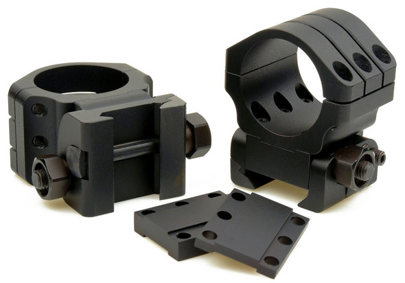 Warne Angle Eye 90 MOA Adjustable Scope Ring 30mm