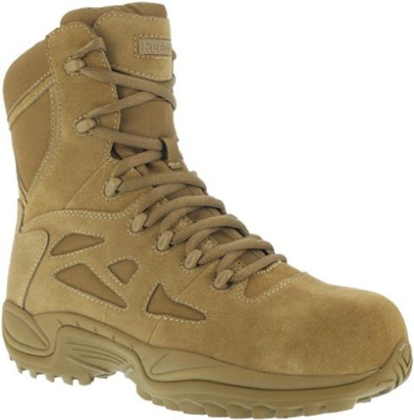 "Reebok RB8850 Men's Stealth 8"" Rapid Response RB Coyote Boots"