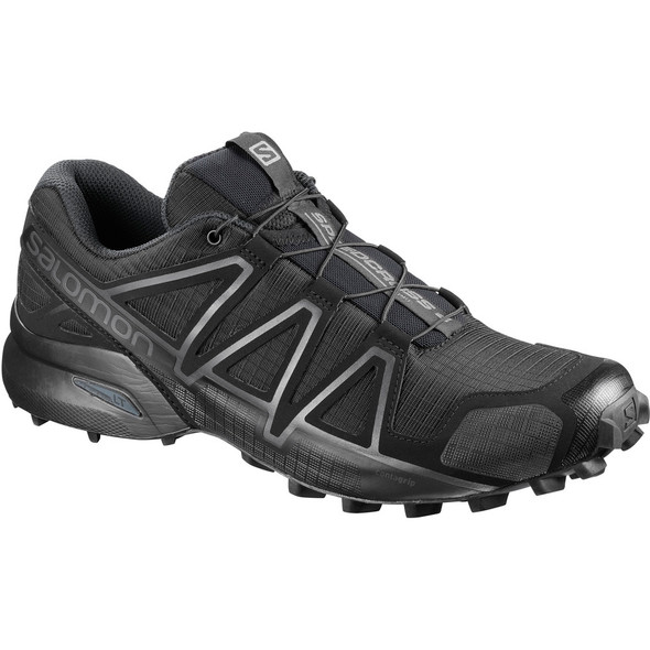 Salomon L40143600 Speedcross 4 Forces Wide Black Shoes