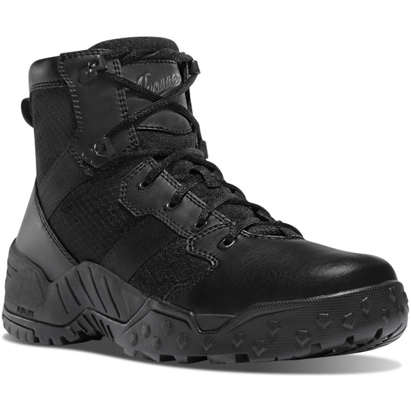 "Danner 25730 Black 6"" Scorch Side-Zip Tactical Boots"
