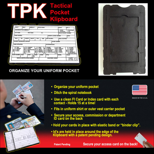 TMK Tactical Pocket Klipboard