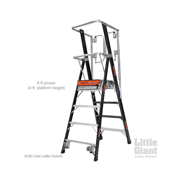 Little Giant Safety Cage Ladders