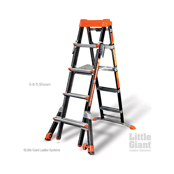 Little Giant Select Step Fiberglass Ladders