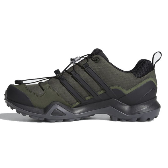 Adidas CM7497 Men's Outdoor Terrex Swift R2 GTX Night Cargo/Black/Base Green Shoes