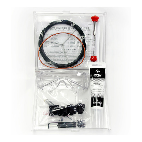 Maxa Beam Combination Lamp, Front Lens, and Power Connector Replacement Kit