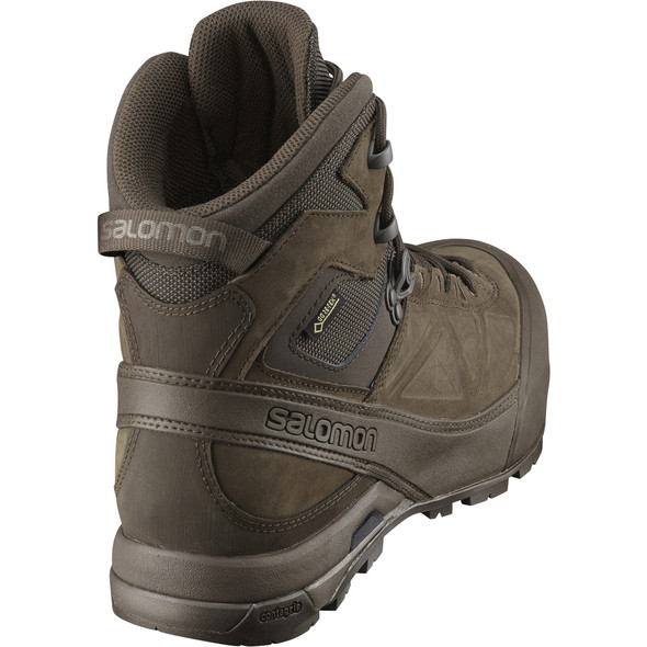 Salomon L40136800 Men's X Alpin Mountain GTX Forces Slate Black Boots