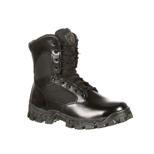 Rocky 4165 Womens Alpha Force 8 in. Duty Boots BLACK