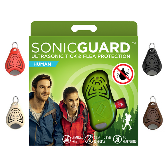 Mako Sonicguard Ultrasonic Tick And Flea Repellers