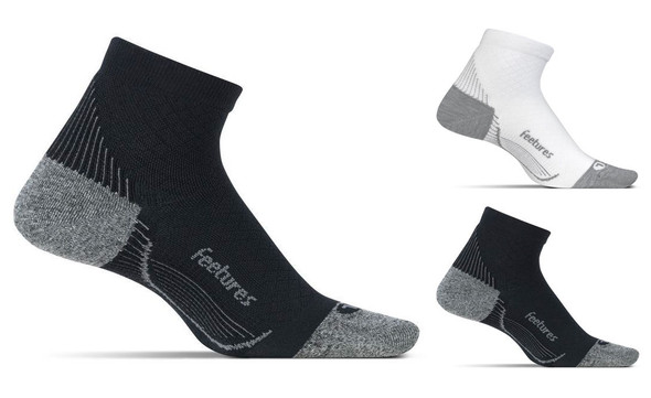 Feetures PF Relief Light Cushion Quarter Socks