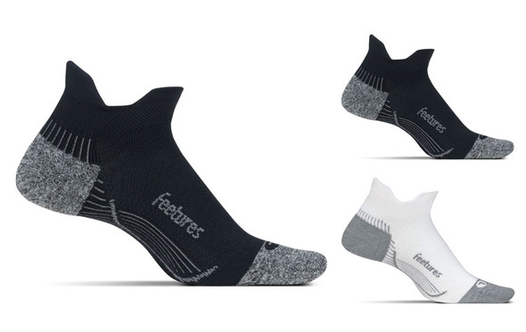 Feetures PF Relief Light Cushion No-Show Tab Socks
