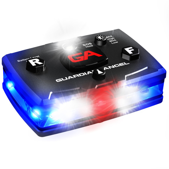 Guardian Angel Elite Series™ was designed for professionals that need visibility and versatility while on the job. Developed with the latest in LED technology that allows all of our GA Elite Series™ personal safety devices to be seen for 5+ miles.  Welcome to the most advanced wearable safety light on the market today.