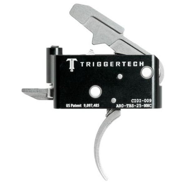 TriggerTech Adaptable AR Primary Trigger, Curved / 2 Stage