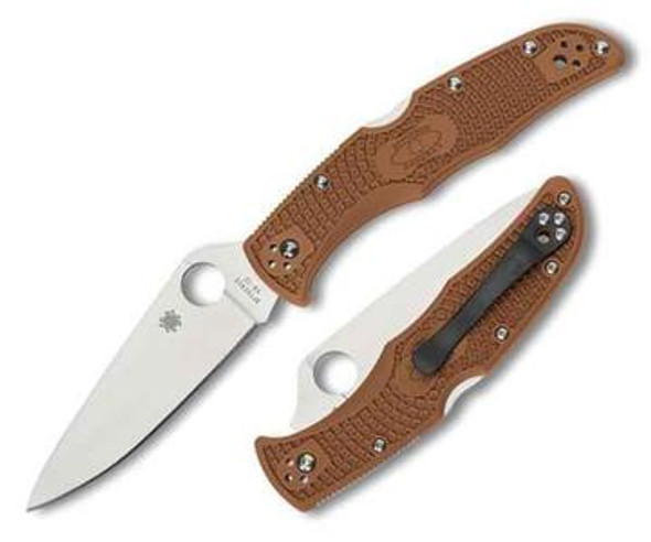 Spyderco C10F Endura 4 Flat Ground Lightweight Folding Knife