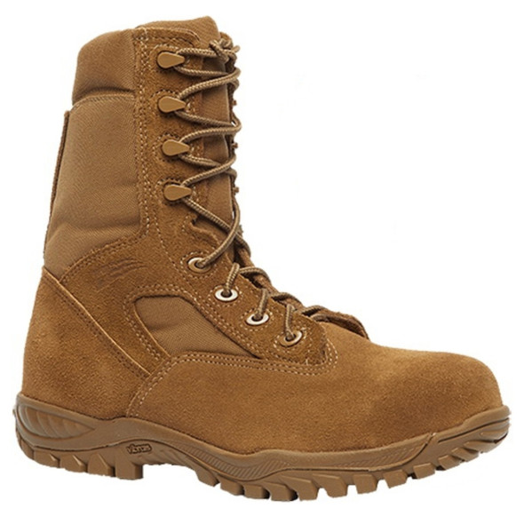 "Belleville C312 ST 8"" Hot Weather Steel Toe Tactical Coyote Boots"
