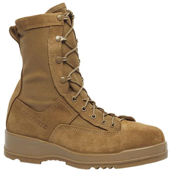 "Belleville 330 COY ST 8"" Hot Weather Steel Toe Flight Coyote Boots"
