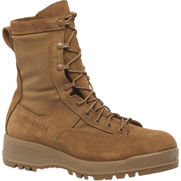 "Belleville C790 ST 8"" Waterproof Steel Toe Flight & Combat Coyote Boots"