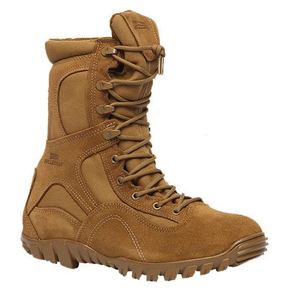 """Belleville C793 8"""" Waterproof Assault Flight Coyote Boots"""