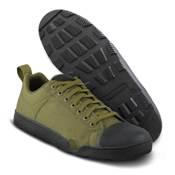 Altama 335006  Men's OTB Maritime Assault Olive Drab Low Boots