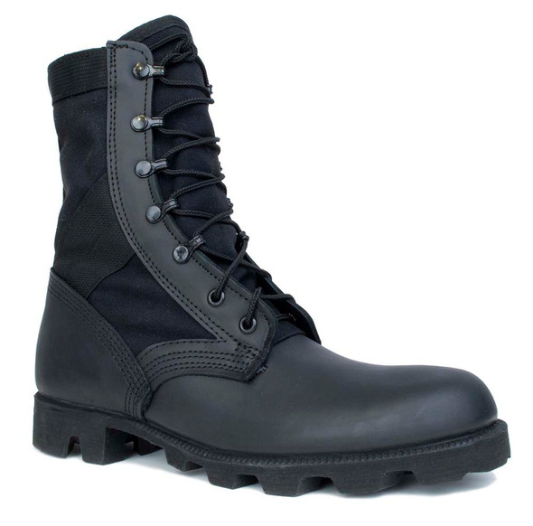 McRae 9189 Hot Weather All Black Jungle Boot w/Panama Outsole