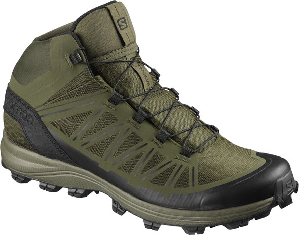 Salomon L40742400 Speed Assault Olive Boots