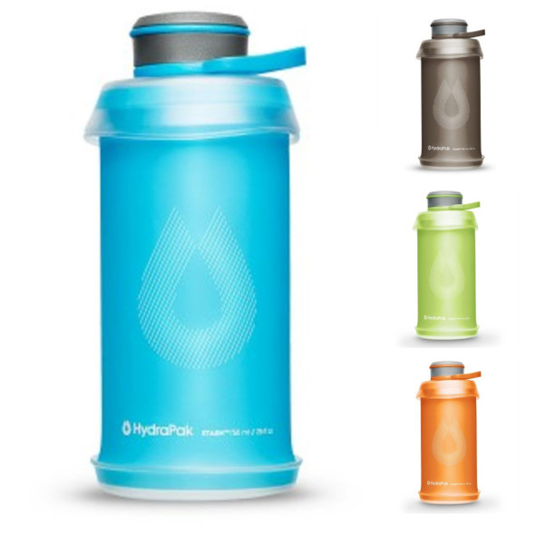 HydraPak Stash Flexible Water Bottles 750mL