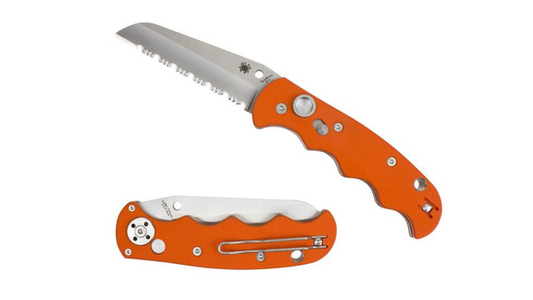 Spyderco C165GSOR Autonomy Orange Folding Knife