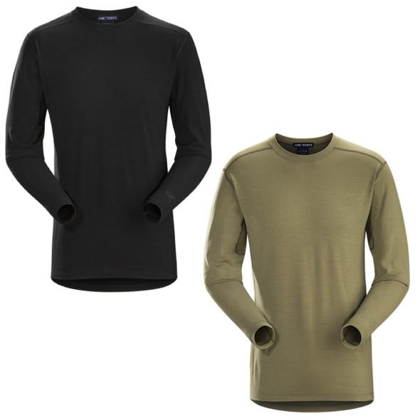 ArcTeryx Mens Wool Cold WX AR Long Sleeve Shirt