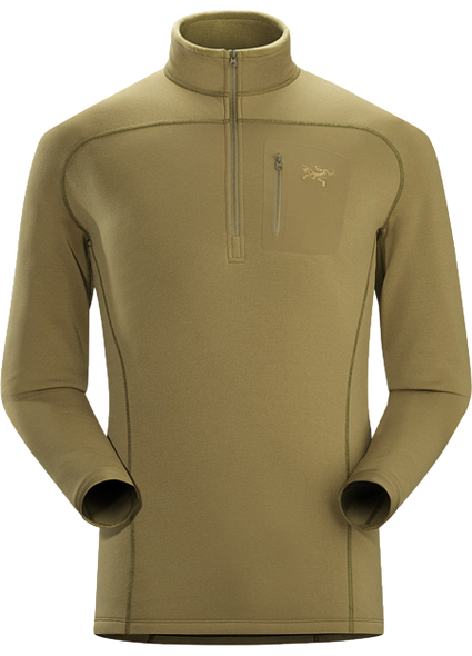 ArcTeryx Mens Cold WX Zip Neck Shirt SV