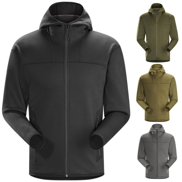 ArcTeryx Mens NAGA Full Zip Hoody Jacket