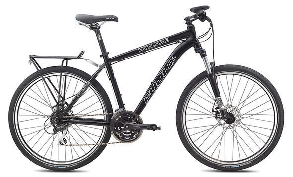 Fuji 2013 Police Patrol Mountain Bicycles 26-Inch Wheels BLACK