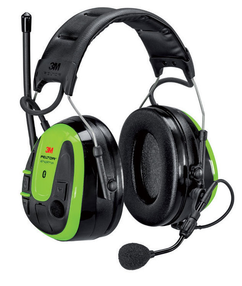 3M Peltor WS Alert XPI Headset Hearing Protection w/Bluetooth MultiPoint Technology