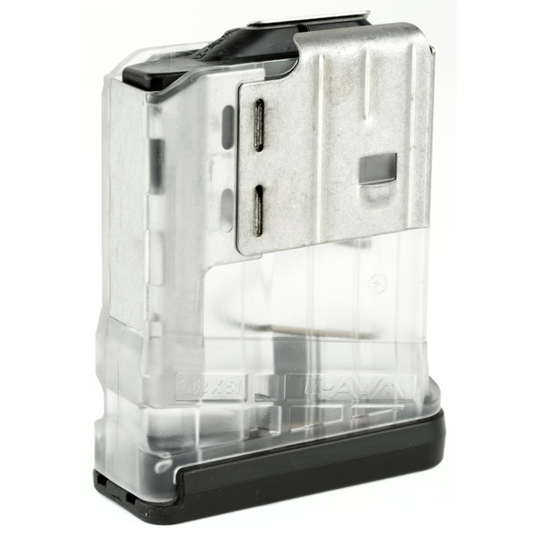 Lancer 7.62mm 10rd Translucent Clear Magazines