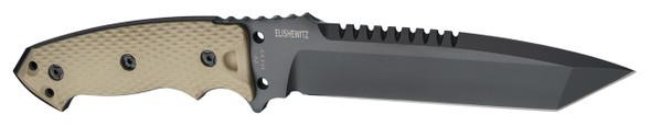 "Hogue EX-F01 A2 Tool Steel Tanto 7"" Flat Dark Earth Fixed Blade Knives"
