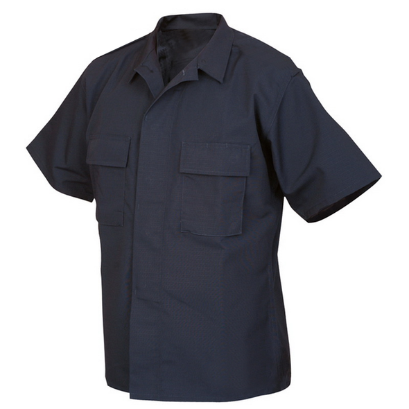 Protocol Short Sleeve Zip Up Shirts